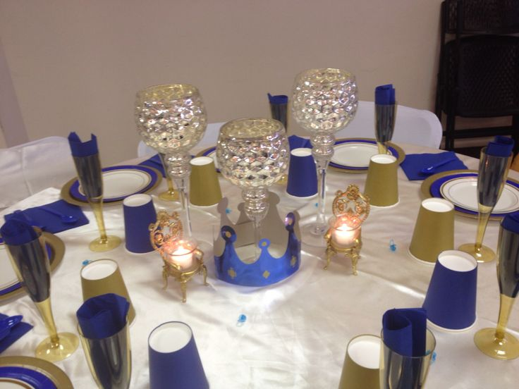 pinterest royal blue and gold pillow cakes and gold baby showers