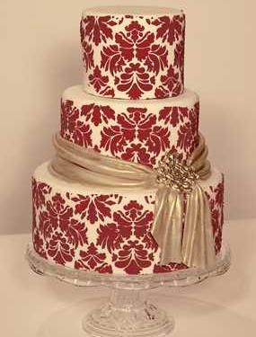 Amazing Red Wedding Cakes Source 1bpblogspotcom cakepins.com