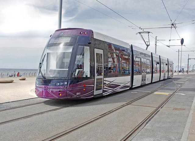 New Blackpool Trams by 70023venus2009, via Flickr