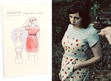 Colette Sewing Pattern, Ceylon Dress UK Size 2 - 20