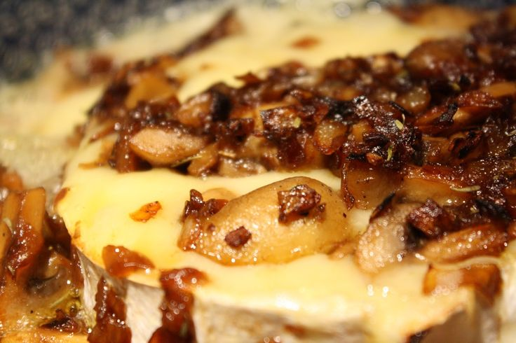 ... Gospel According to Ruth: Baked Brie Topped with Caramelized Mushrooms