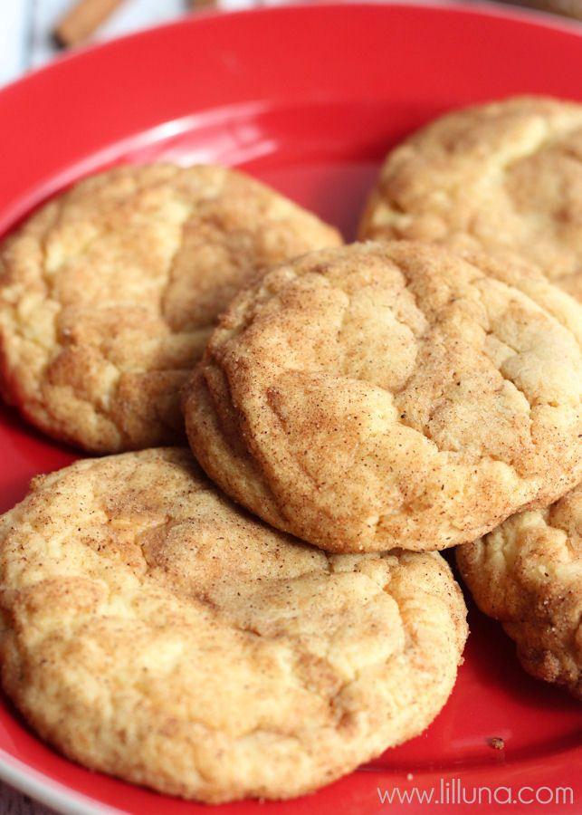 Biscoff Snickerdoodles ~ Snickerdoodles + Biscoff = YUMMY! Recipe ...