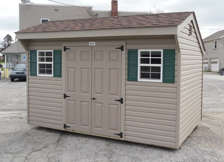 8x12 Salt Box Storage Shed Salt Box Pinterest