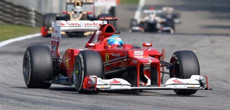 Fernando Alonso at Monza