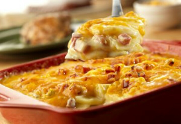 Scalloped potatoes and ham | Food & Goodies | Pinterest