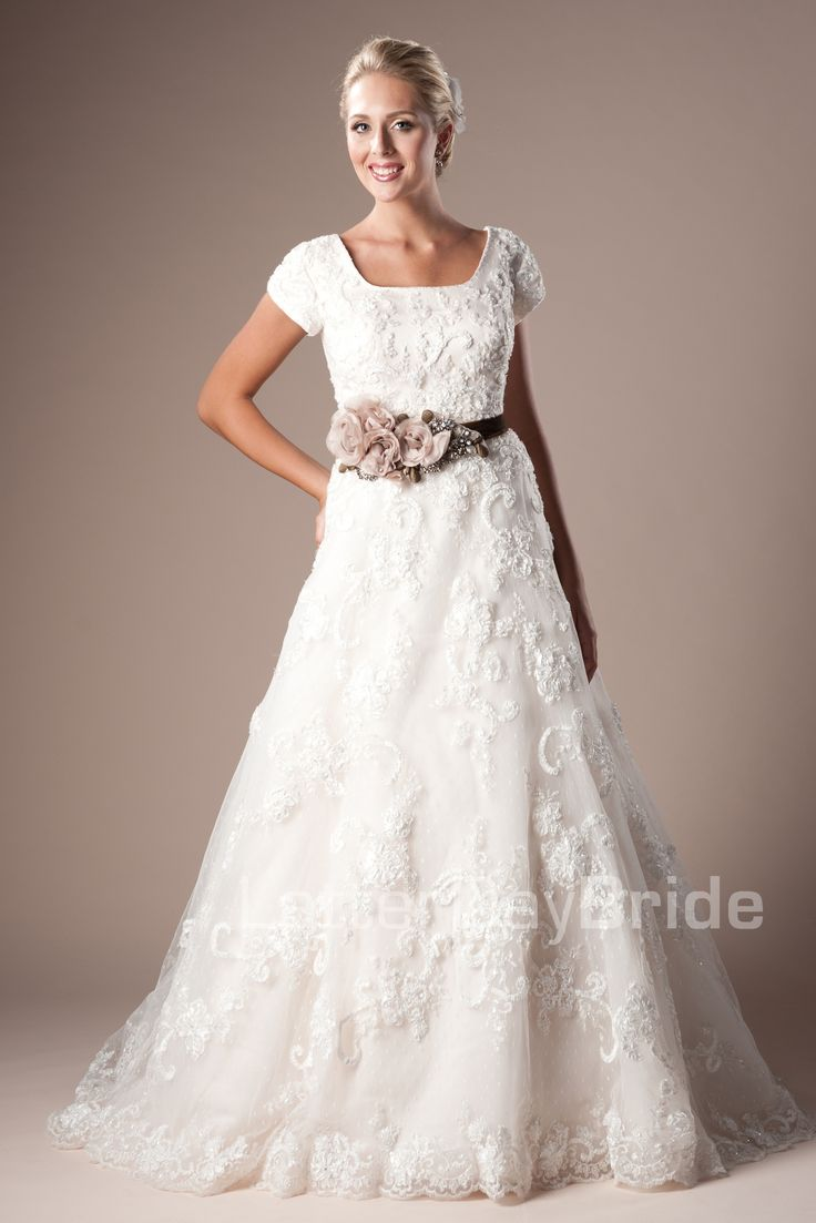 Evangeline latter day bride wedding dresses pinterest for Latter day bride wedding dresses