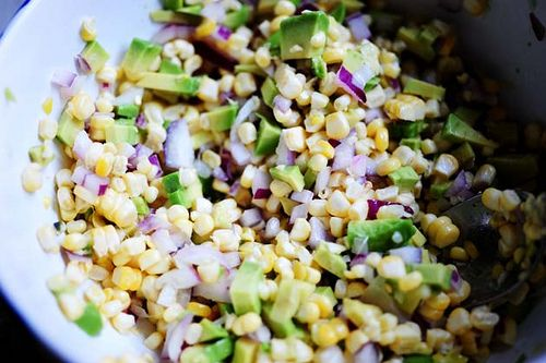 Fresh Corn and Avocado Salsa by Ree Drummond / The Pioneer Woman