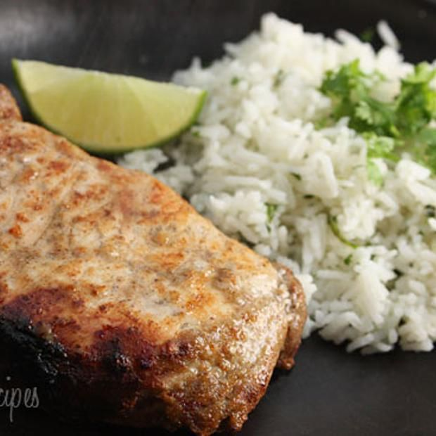 Garlic Lime Marinated Pork Chops | food I would like to try | Pintere ...