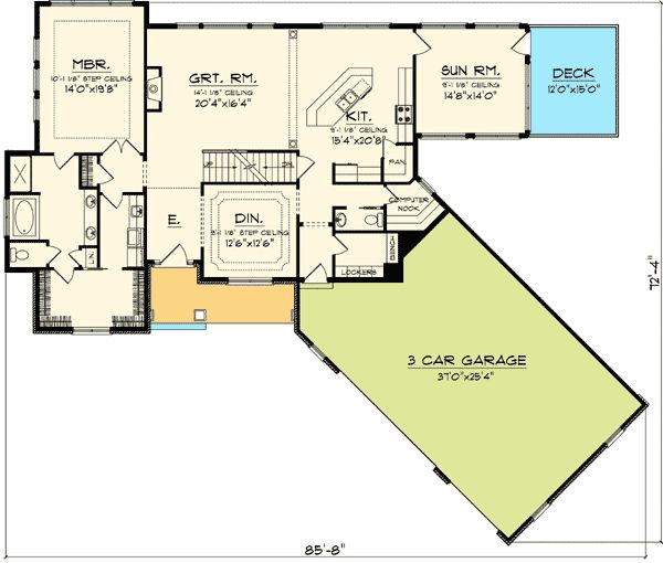 3636815d942dcb2f additionally House Plans Shelbyville Indiana moreover 489766528213555403 further Montagna Di Grazioso 3057 further Patio Door Ideas Bedroom Modern With Backyard Glass Doors Grass. on angled craftsman house plans