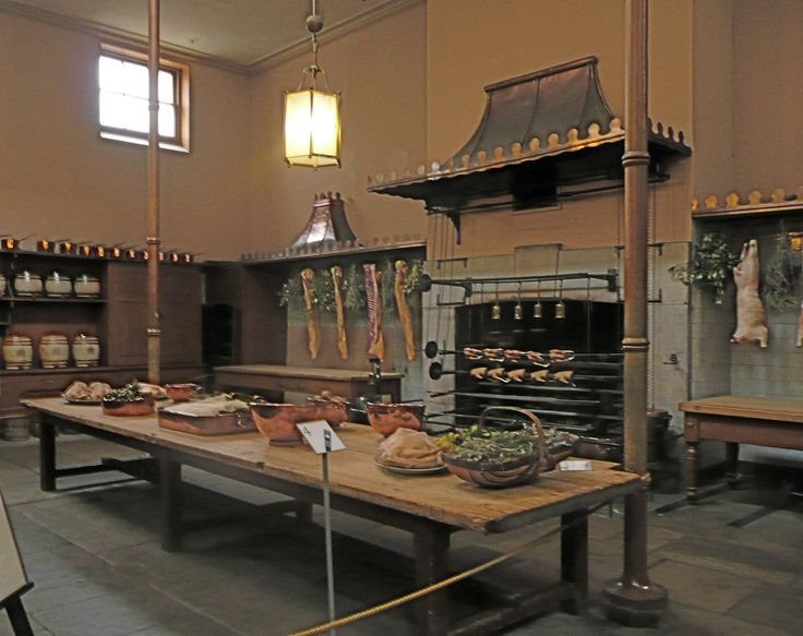 Royal pavilion kitchen
