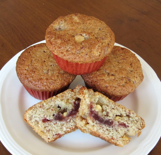 ... : Grand Marnier White Chocolate Cranberry Muffins for #MuffinMonday