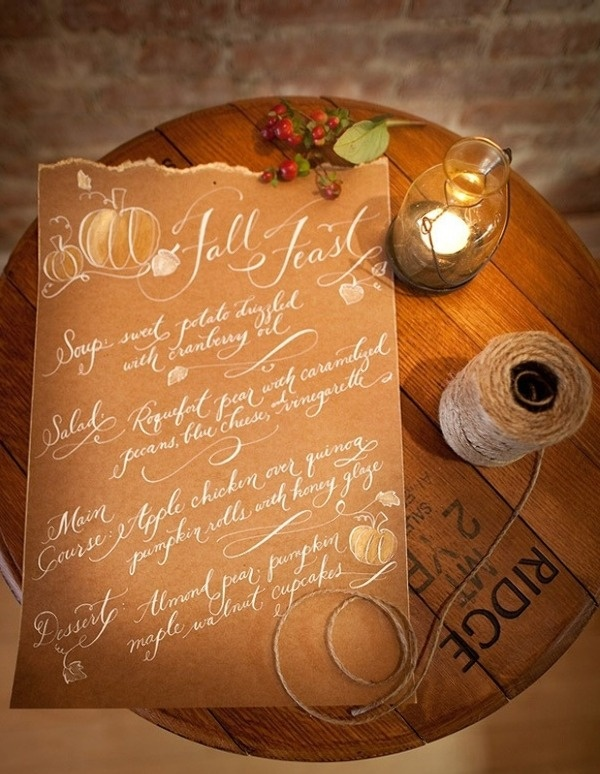 Love the white ink on the brown paper.... ripped edges.....