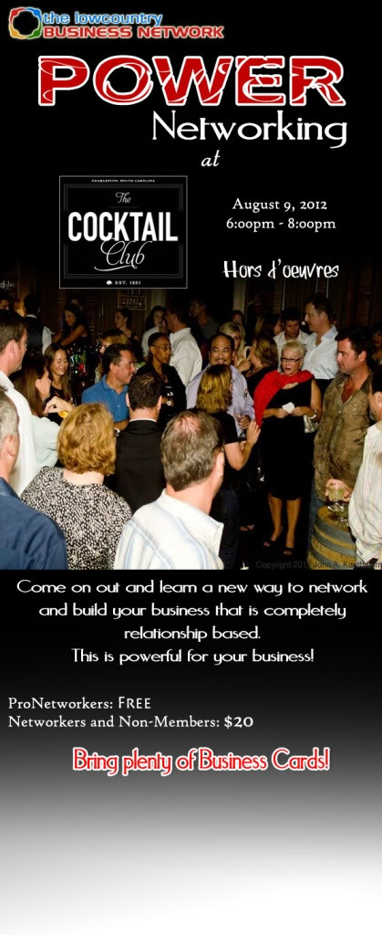 Power Networking August 9th!