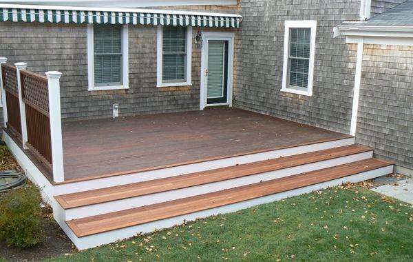 deck steps backyard oasis ideas pinterest