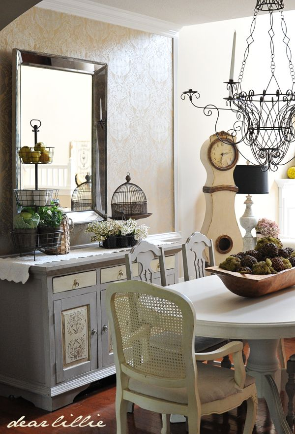 Eclectic french country dining room home sweet home pinterest
