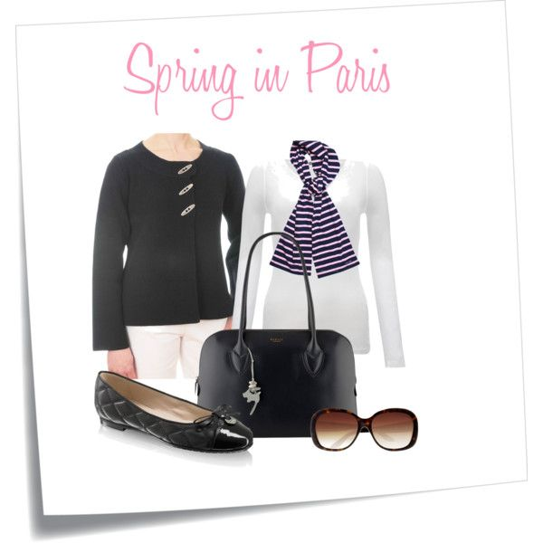 Spring in Paris with a discreet nautical touch #fashion