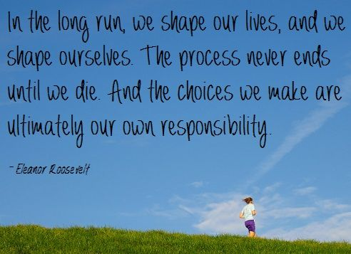 Eleanor Roosevelt: the ultimate runner's inspiration. Who knew?