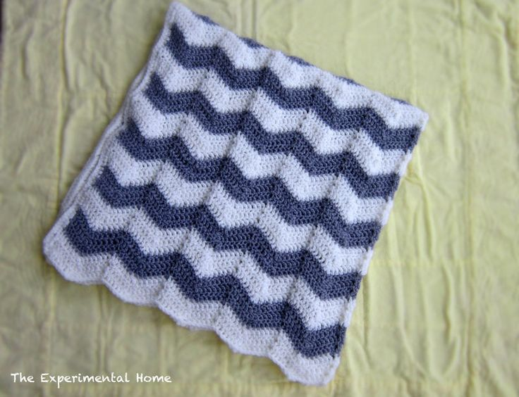 Crochet Patterns Chevron : Chevron crochet blanket DIY Pinterest
