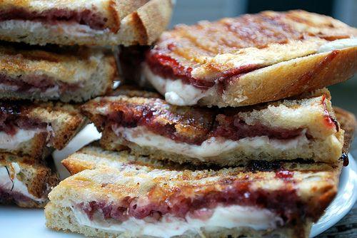 Mozzarella, Raspberry & Brown Sugar Panini-- from Giada at Home ...