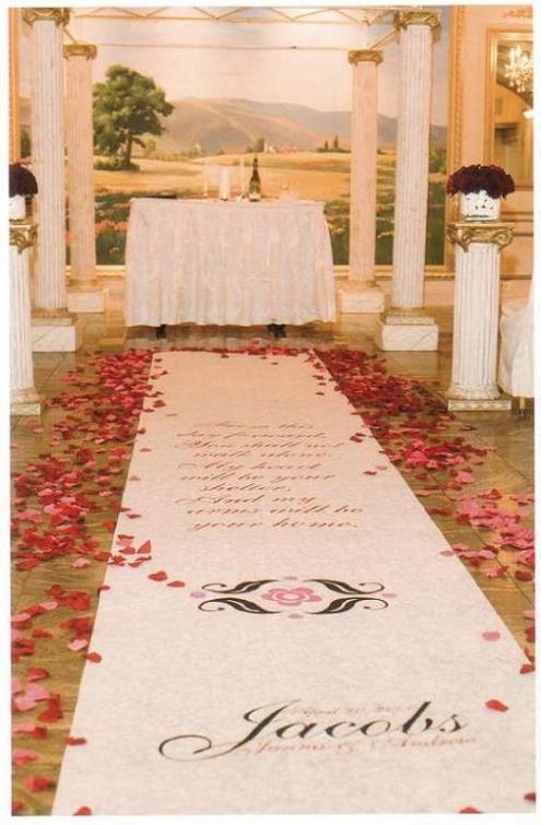 angeluvgoodies wedding aisle runner ideas