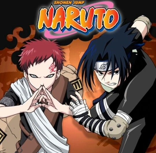 Gaara and Sasuke(:   Awesome Anime All for ME!   Pinterest