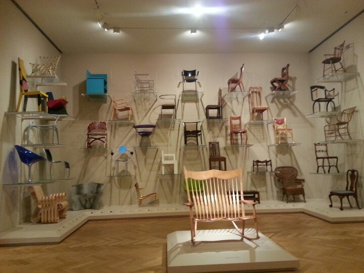 Chairs exhibit carnegie museum of art museums pinterest for Furniture exhibition