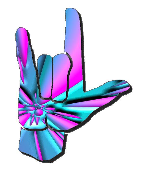 i Love You Sign Language Clip Art i Love You Sign Language Clip