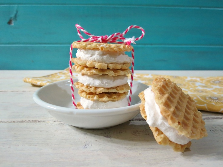 Lemon and Coconut Ice Cream Sandwiches, easy to make and only 44 ...