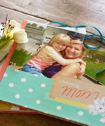 Mother's Day photo book by Shutterfly