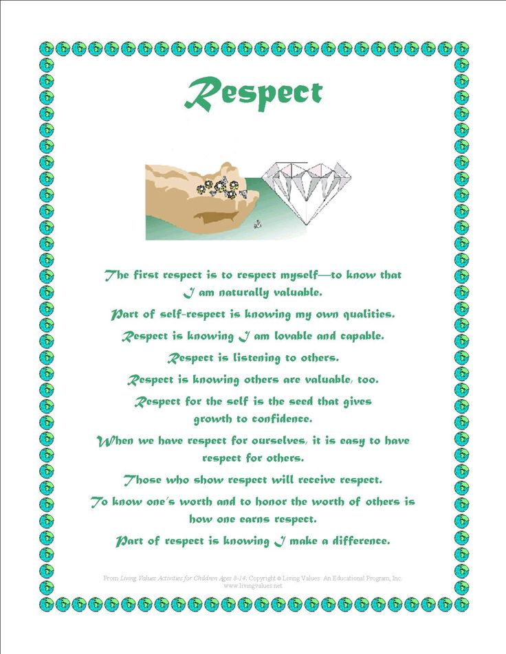 Respect For Intellectual Property Definition