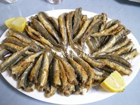 fried anchovies | . : r u s t i c . s a v o r i e s : . | Pinterest