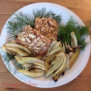 Honey Almond Salmon with Roasted Fennel; Coconut Free Paleo Recipes ...