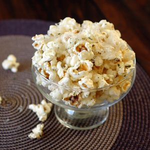 Parmesan Truffle Popcorn | Food to Try | Pinterest