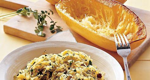 Roasted Spaghetti Squash with Herbs - Paleo Recipe Site | Paleoaholic