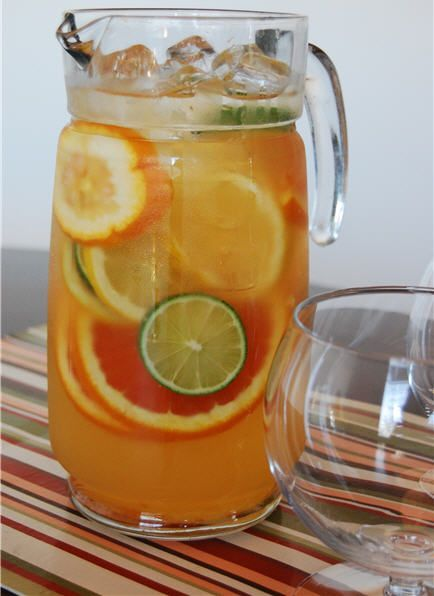 citrus sangria. | It's 5:00 Somewhere | Pinterest