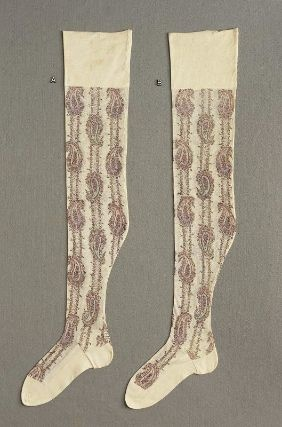Pair of women's stockings  American, about 1922  Northampton, Massachusetts, USA  Cotton knit