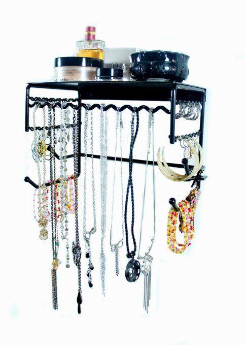 Organizer Shelf for Earrings, Bracelets, Necklaces, & Hair Accessories