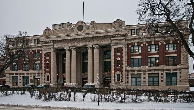 Winnipeg canada cpr train station by kla4067 via flickr every