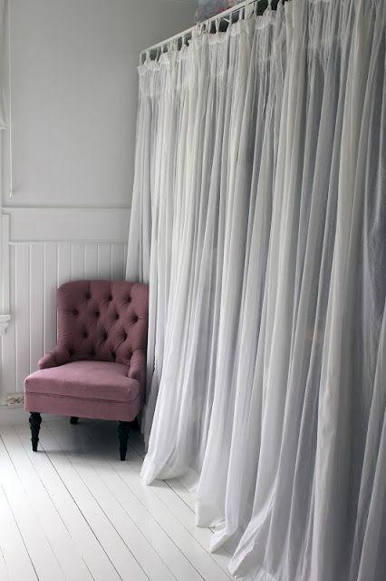 Smart closet idea curtain doors house ideas pinterest