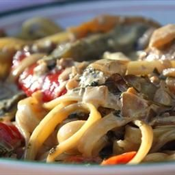Chicken Tequila Fettuccine on BigOven: I love this and add extra ...