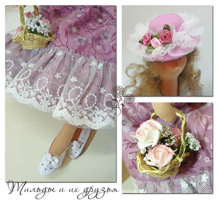 Куклы Тильда, ангелы тильда и их друзья - зайки, кошки и мишки #