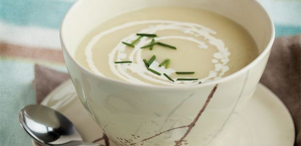 Vichyssoise (Cold Leek and Potato Soup) | Recipes: Soups | Pinterest