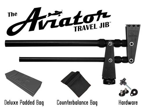 The Aviator Travel Jib gives you smoother videos - Digital Cameras: SLR & Compact Cameras