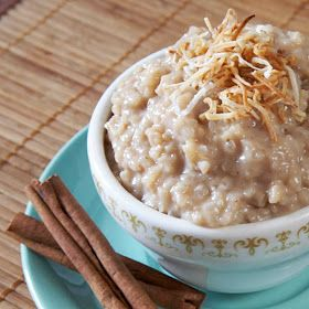 Spicy Chai Rice Pudding | The Proof is in The Pudding | Pinterest