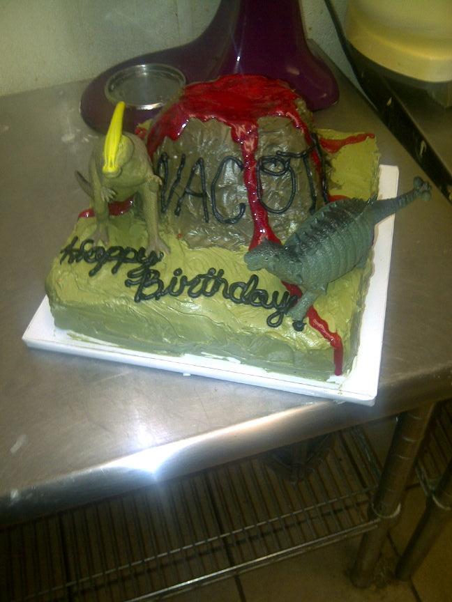 Dinosaur birthday cake, 11 year old boy. Party Ideas ...