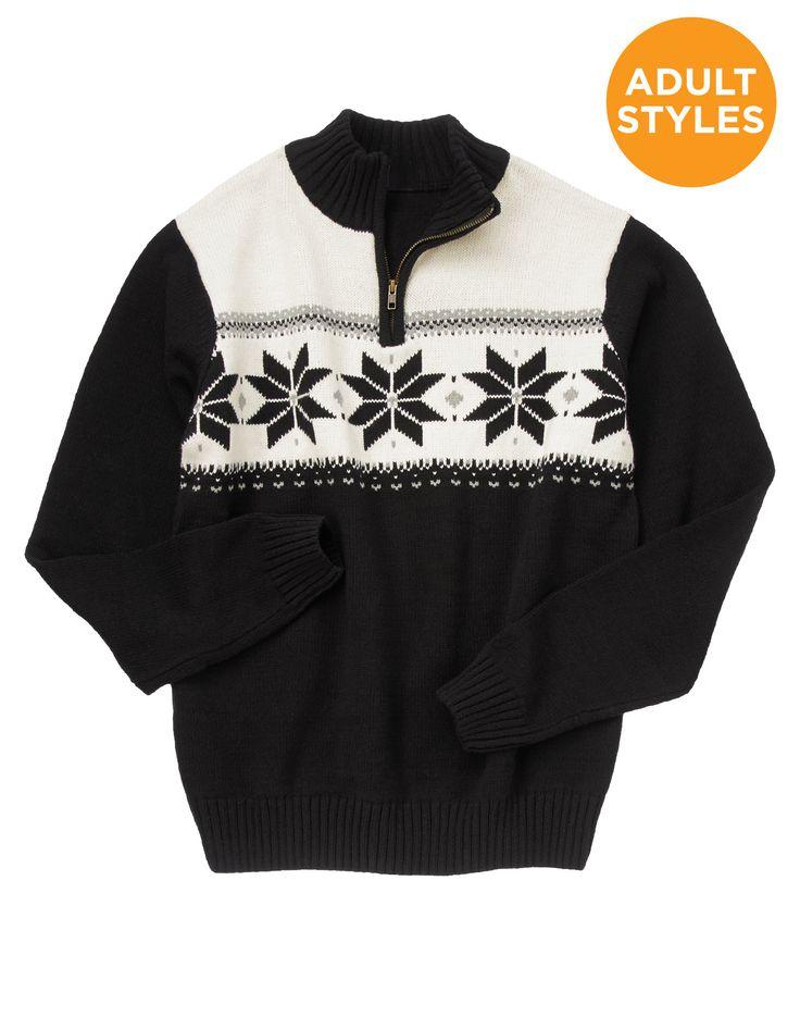 Zip Up Sweater Pattern 34