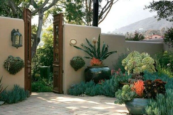 Spanish garden spanish style pinterest for Spanish garden designs