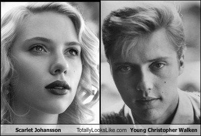 Pin Scarlett Johansson... Christopher Walken Funny Meme