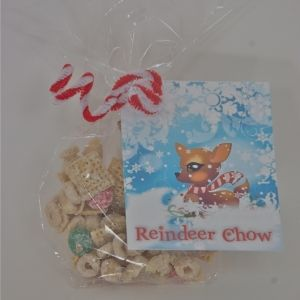 Reindeer Chow recipe (like Bunny Bait, but for reindeer!)