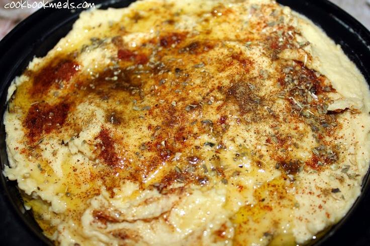 Lemon and Garlic Hummus | Dips & Spreads | Pinterest